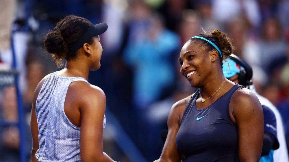 Serena Williams z Naomi Osaka